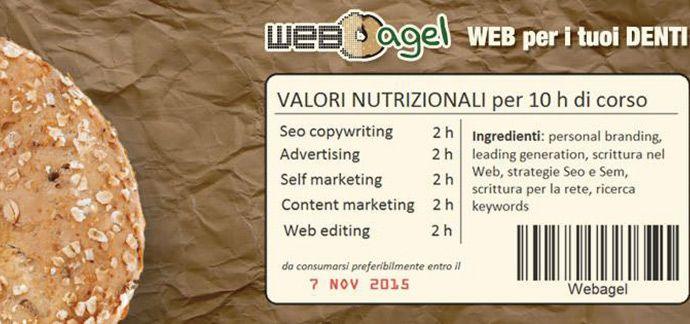 Sono molto entusiasta, io che amo insegnare, sarò la Docente #SEO per un corso di #webmarketing a #Pistoia a cui tengo moltissimo: WEBAGEL.