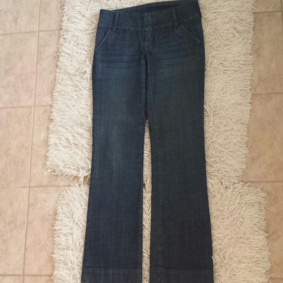 Kut jeans Dark denim jeans with zipper and clasp close. Great, jeans, too small on me now. Worn 3 times. kut Jeans