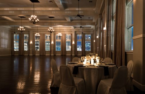 The Room on Main. Downtown Dallas. I'm so in love with this ballroom this is where i'm getting married!