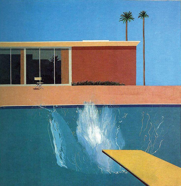 A bigger splash, David Hockney, 1967