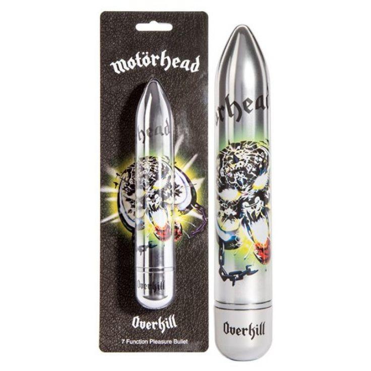"""MOTÖRHEAD – """"Overkill"""" vibrator, Praktisk samleobjekt og flott gave. Practical collectable for fans"""