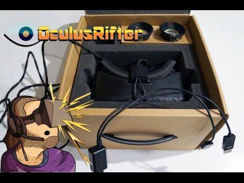 Oculus Rift DK-2 Unboxing & Erste Eindrücke #vr #virtualreality #oculus #oculusrift #gearvr #htcvivve #projektmorpheus #cardboard #video #videos