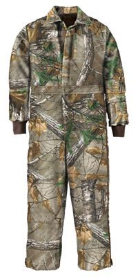 RedHead Silent-Hide Insulated Coverall for Youth - Realtree Xtra - 12