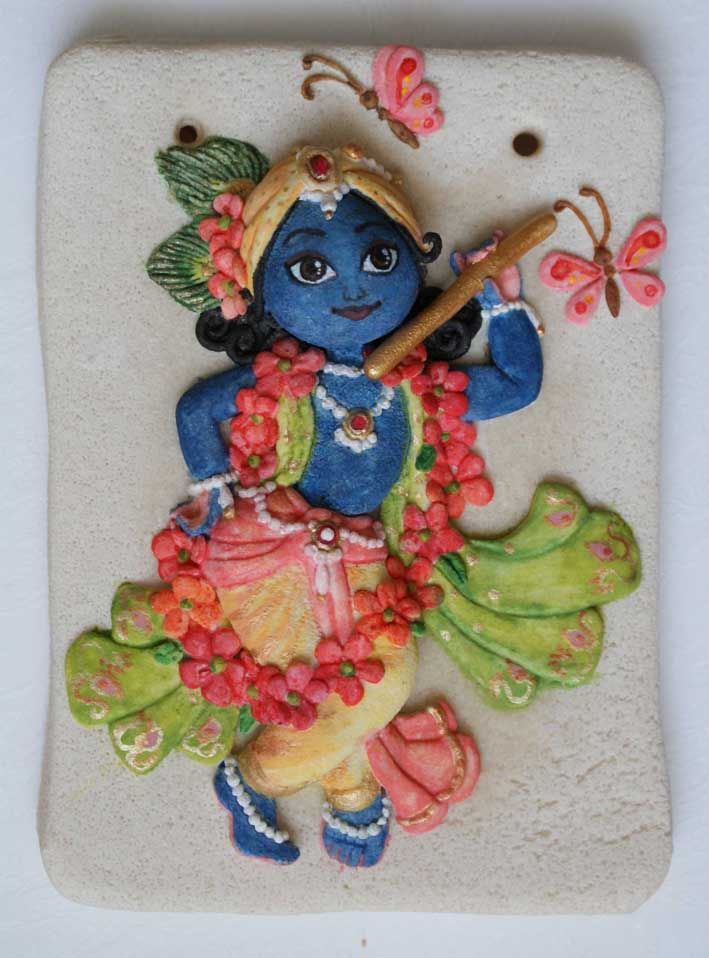 krishna....the site has beautiful krishna's salt dough stuff....beautiful