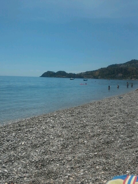 Sea in Taormina -photo by me-