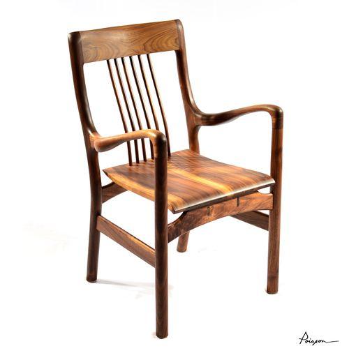 Chaise à bras LOÏC | Noyer noir / Armchair LOIC | Walnut