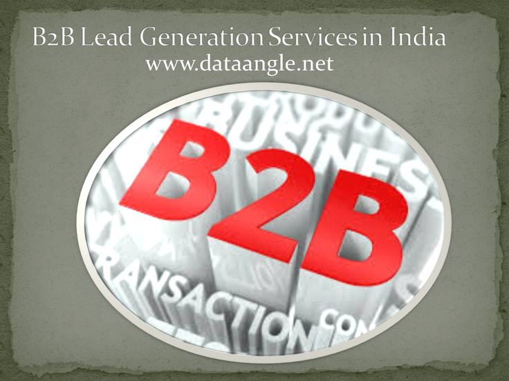 B2B Lead Generation  Lead generation is a set of information received through the search engine to expand the business and increase the sales revenues. Leads consist of details such as name, address email ids of business professionals or reputed companies.