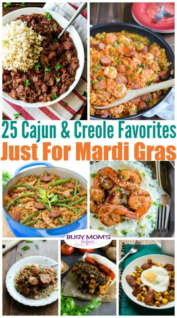 25 Mardi Gras Food Favorites
