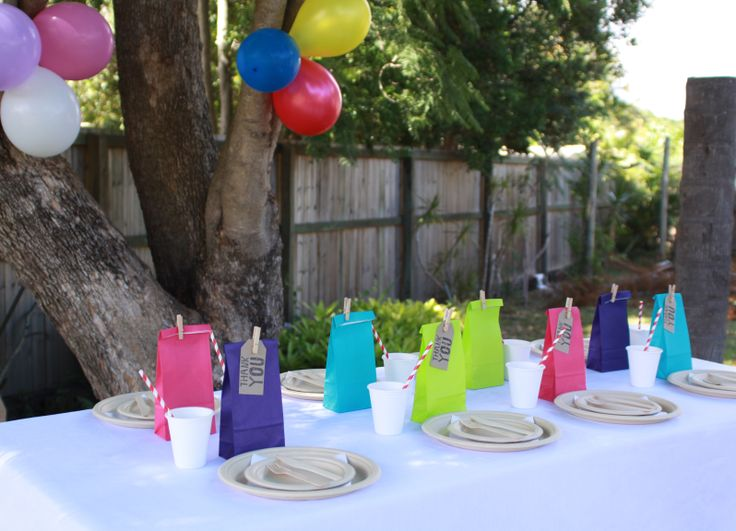 Creating a super cute party using eco friendly products.