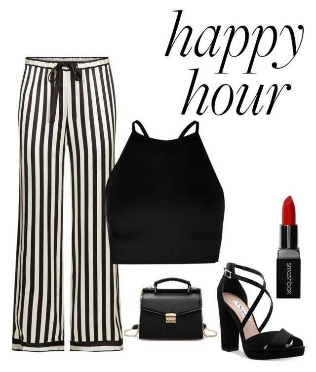 """""""happy"""" by roselie1405x on Polyvore featuring Morgan Lane, Boohoo, Nina and Smashbox"""