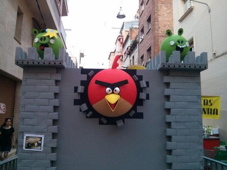 Festes de Sants 2014. Angry Birds