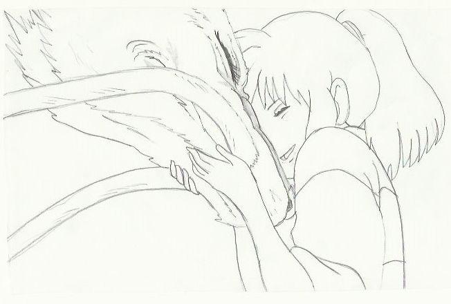personaggi del film la città incantata - Chihiro e Haku