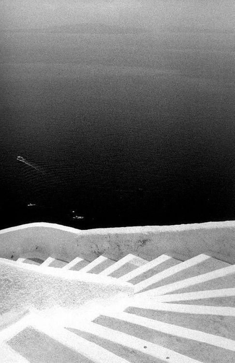 William Abranowicz Stairs, Santorini, Greece, 1991