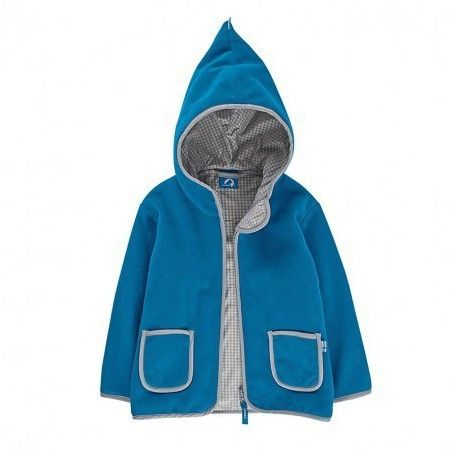 "Zip-In Fleece Jacket ""TONTTU"" nautic/storm, Finkid"