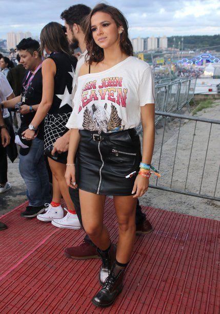 Look de festival: as famosas no segundo dia de Lollapalooza 2017
