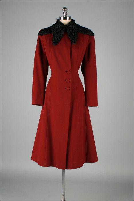 1940s wool coat