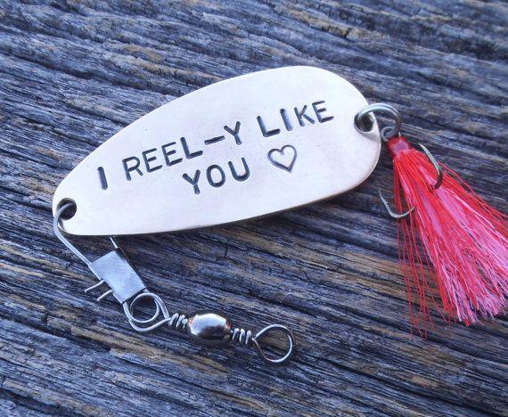I Reel-y Like You Fishing Lure Keepsake Gift by CandTCustomLures