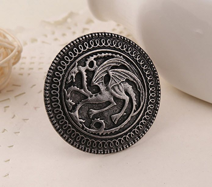 Movie Jewelry Brooch Pin Song Of Ice And Fire Game Of Thrones Targaryen Dragon Badge Brooch Retro Collar Pin For Men  //Price: $US $1.64 & FREE Shipping //     #gameofthrones #gameofthronestour #gameofthronesfamily  #starks #sansastark #jonsnow  #gotseason #gameofthronesaddict  #gameofthronesfanart gameofthronesfan #gameofthronesmemes #gameofthronesfans