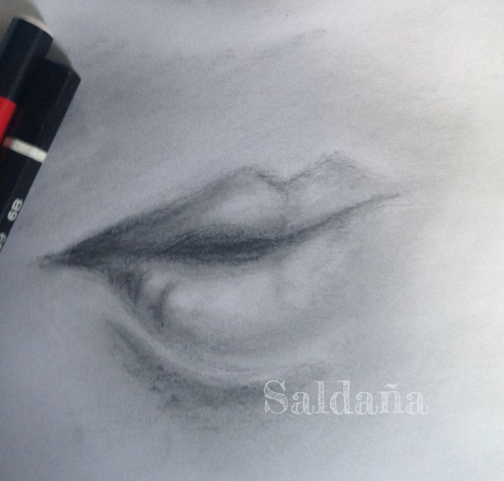 Drawing practice Mouth 2 by T Saldana