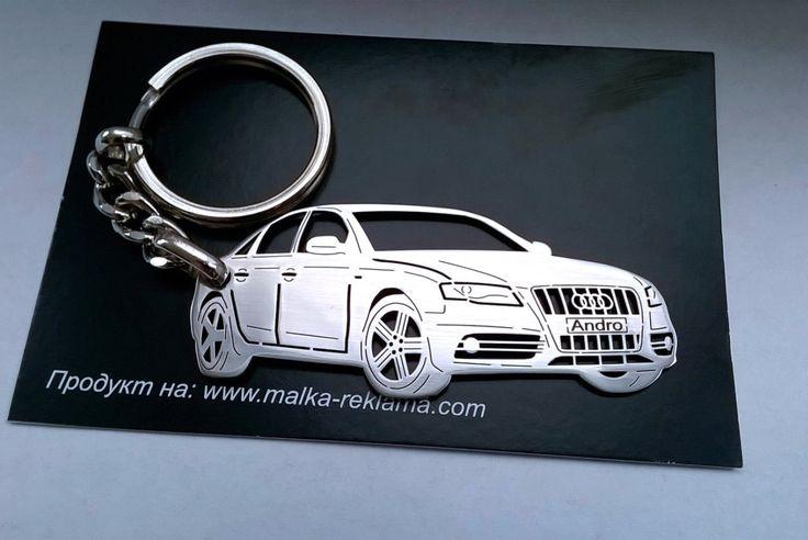 Audi keychain, Audi, Audi S4 B8, Personalized Key Chain, Custom Keychain, Stainless Steel Keychain, Audi key chain, Audi keyholder by TAGSandKEYCHAINS on Etsy