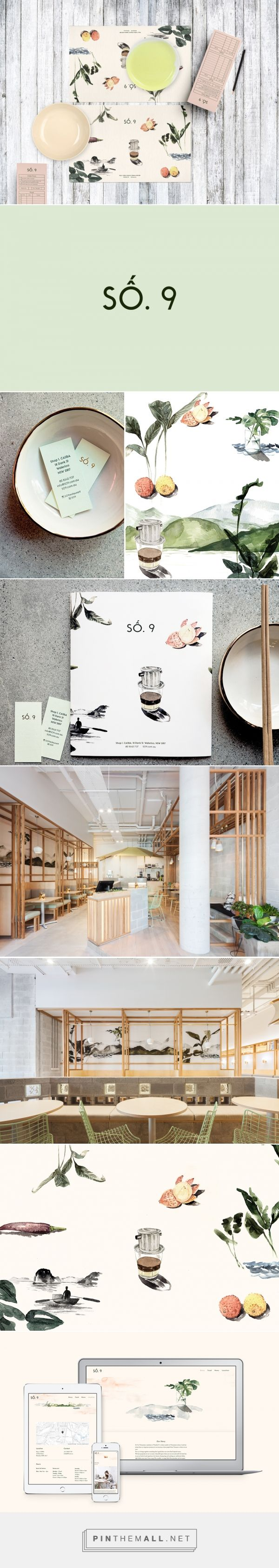 SO.9's Vietnamese Restaurant Branding by BrandWorks Studio   Fivestar Branding Agency – Design and Branding Agency & Curated Inspiration Gallery