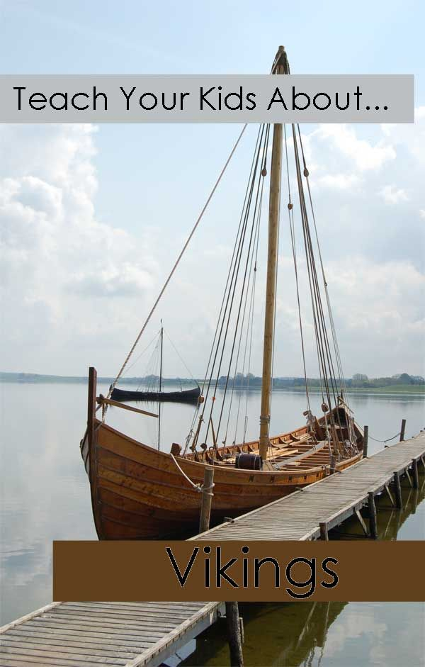 Teach Your Kids About ... Vikings. Very complete resources and units