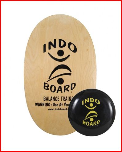 """Got the Monday blues? This might help. Get 10% OFF this month only on any of the Original FLO GF (no roller is included). The Original FLO GF features the Indo Original 30"""" X 18"""" deck combined with a 14"""" IndoFLO®️ Cushion. Click http://ss1.us/a/q139srQn. #indoboard #balanceboard  :-) Georgette"""