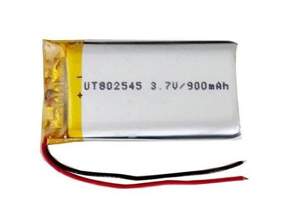 Safe Single Cell Lipo Battery 802545 3 7v 900mah Rechargeable Battery Rechargeable Batteries Lipo Battery Lipo