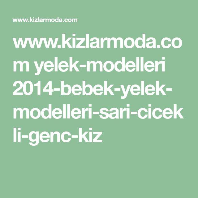 www.kizlarmoda.com yelek-modelleri 2014-bebek-yelek-modelleri-sari-cicekli-genc-kiz