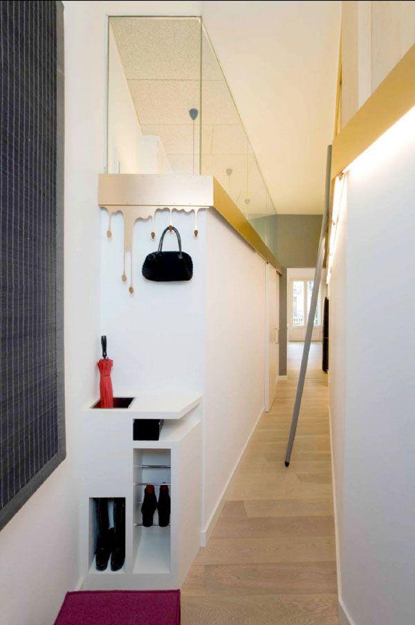 Pasillo acristalado #pasillos #Hallways #decor