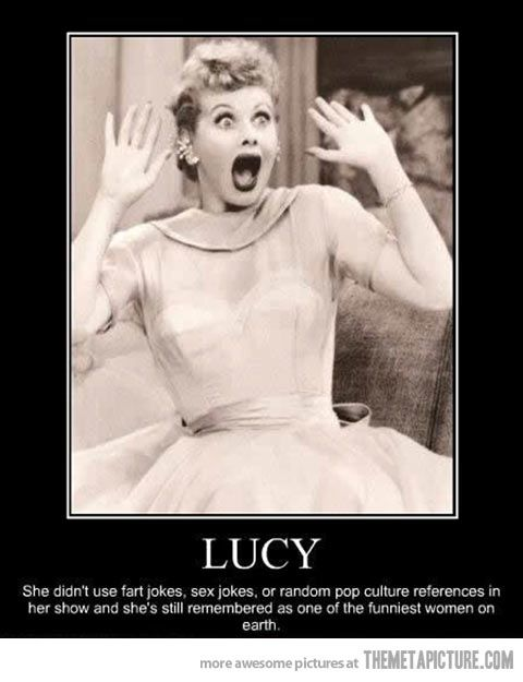Lucy…
