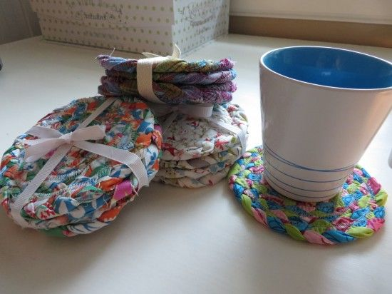 How To: Braided Rag Rug Coaster                                                                                                                                                                                 More