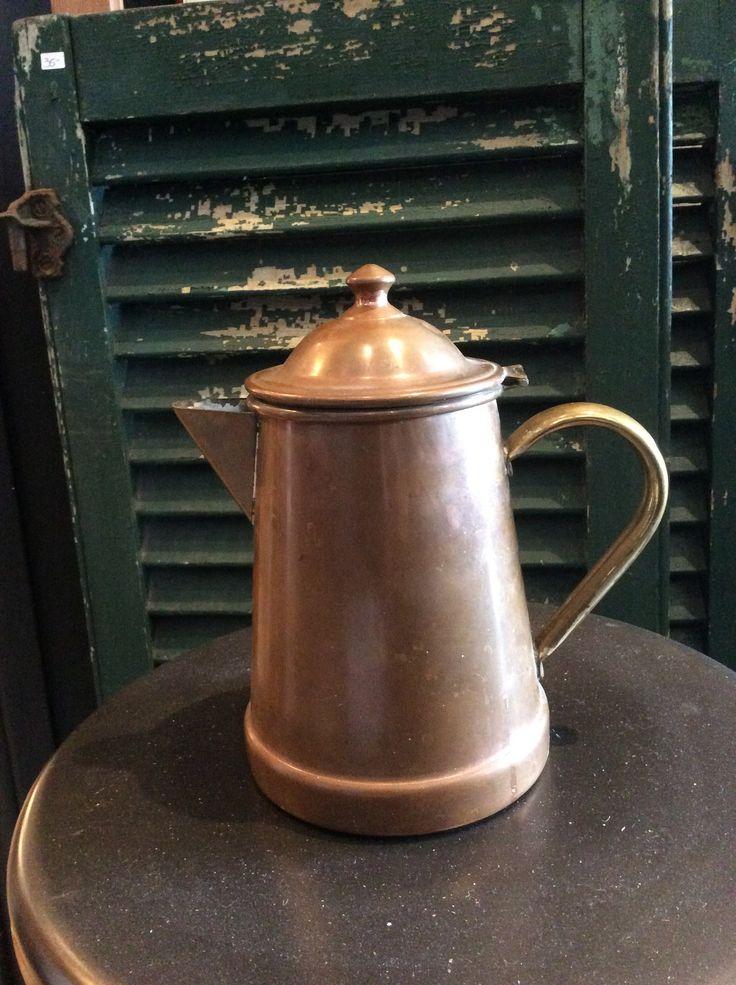 +1 (450) 218-0815 #Antiquites à #Vendre via la #boutique, #achat en ligne ... Petite cafetiere en cuivre