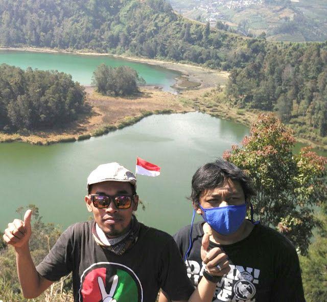 Legenda Batu Pandang dan Pesona Alam Telaga Warna Dieng central java indonesia
