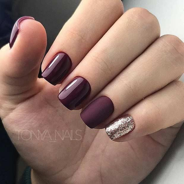 10 Chic Burgundy Nails You'll Fall in Love With