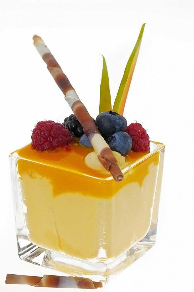 Margarita-Mousse mit Mangosauce | Tacoweb