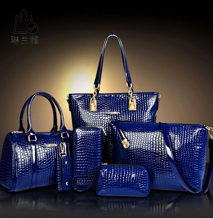2016 Fashion Crocodile Handbag PU Leather Bag Women Handbags Crossbody Bag Handbag+Messenger Bag+rse+Wallet 6 sets WHC008462 #>=#>=#>=#>=#> Click on the pin to check out discount price, color, size, shipping, etc. Save and like it!