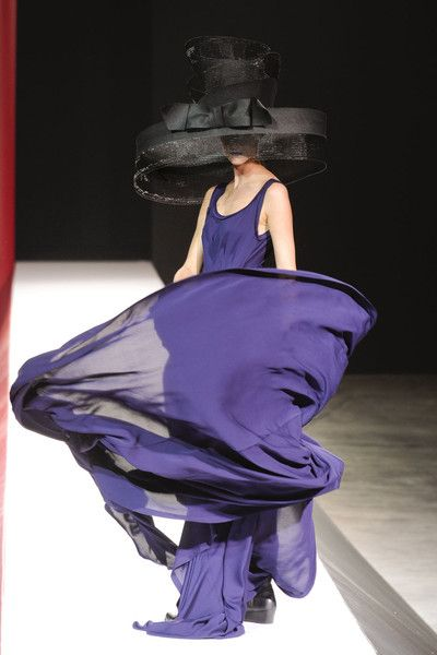 Yohji Yamamoto: Paris Spring, Fashion, Style, Blue, Dress, Yamamoto Paris, Spring 2012, Yohji Yamamoto, Yohjiyamamoto