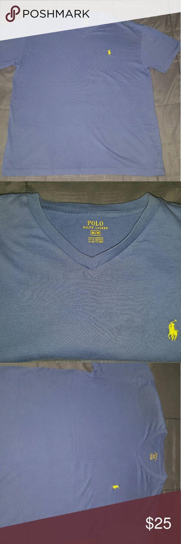 Mens Polo Ralph Lauren T-Shirt ( M ) - NEW Medium Sized Polo Ralph Lauren V-neck. Short sleeve. Polo by Ralph Lauren Shirts Tees - Short Sleeve