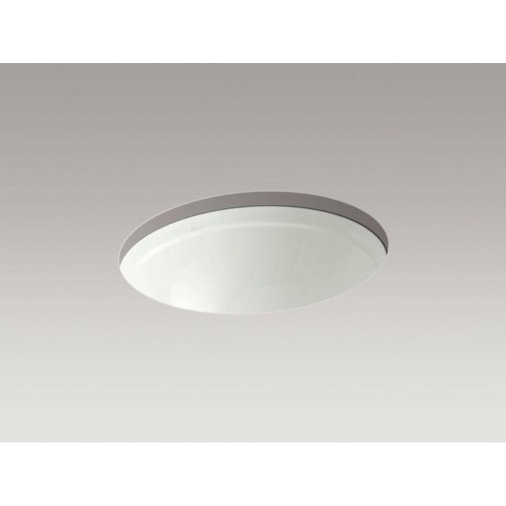 Kohler - 551017 sales at Pipeline Supply Inc. Undermount Bathroom Sinks in a decorative Dune finish