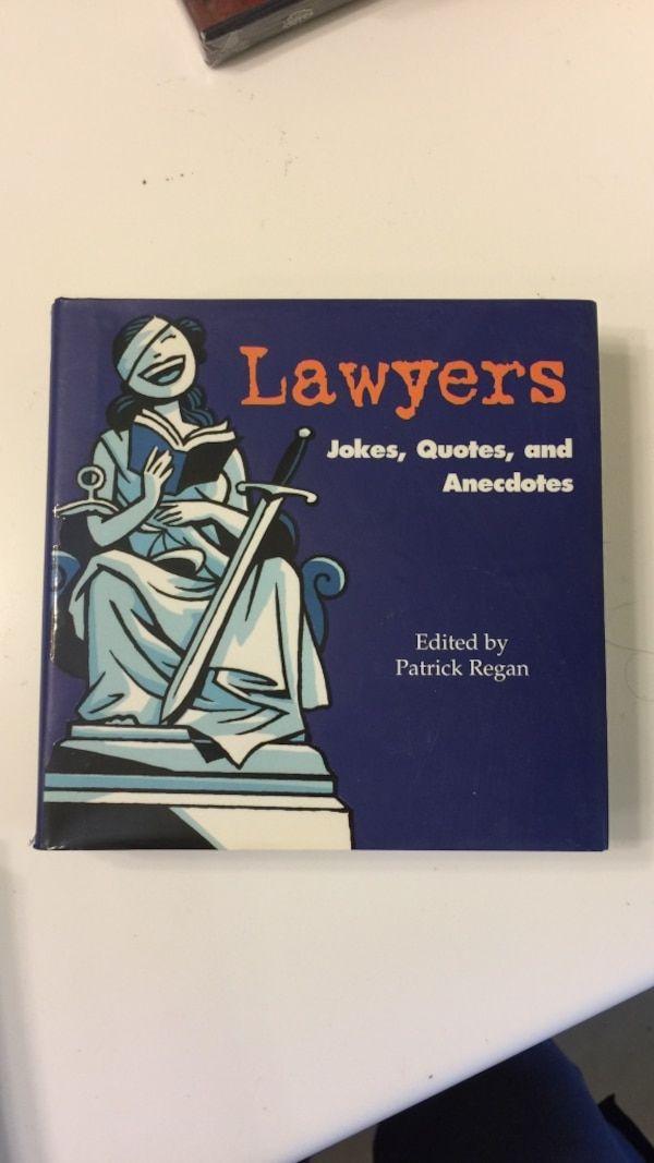 Lawyers Jokes Quotes And Anecdotes By Patrick Regan Usado En Venta