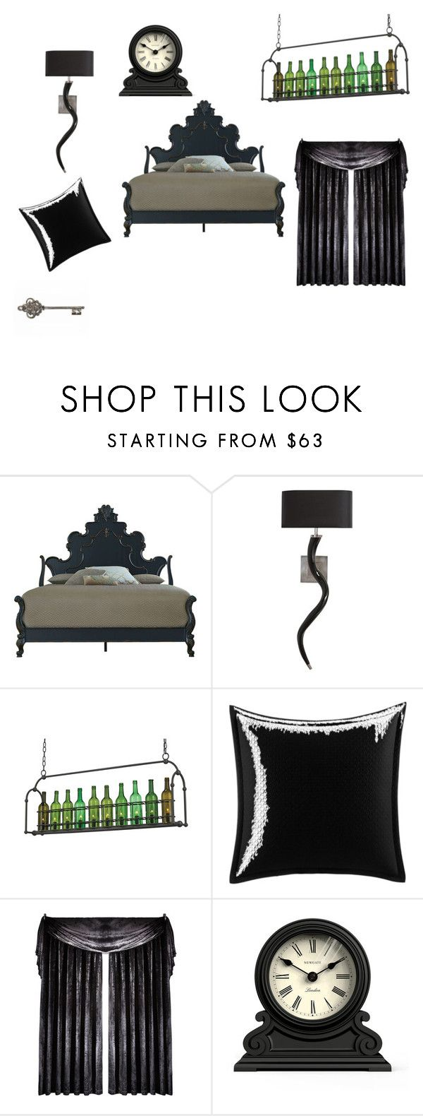 """x"" by jessica-gl on Polyvore featuring interior, interiors, interior design, home, home decor, interior decorating, Currey & Company, Betsey Johnson, Laurence Llewelyn-Bowen and Newgate"