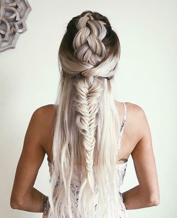 Wish my hair was thick enough to do this..