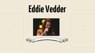 Mus 125 Eddie Vedder