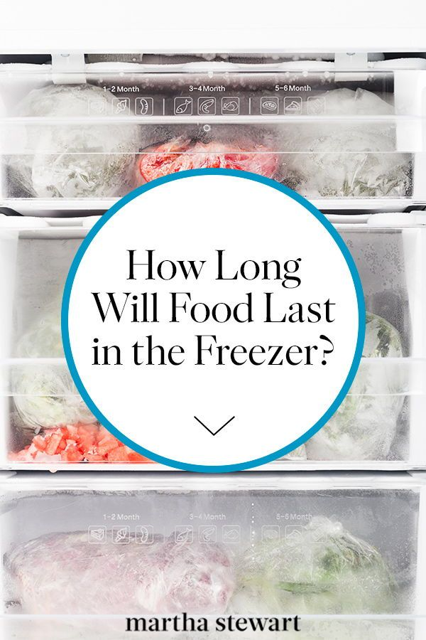 How Long Will Food Last in the Freezer?   Frozen seafood, Canned meat,  Freezer meals