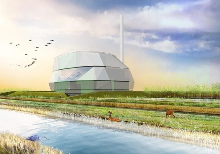 #EcoEnergy Plant | #Donetsk | #Ukraine | Urban Design