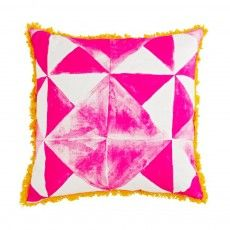 Pacific Tile Pink Floor Cushion - Bonnie and Neil