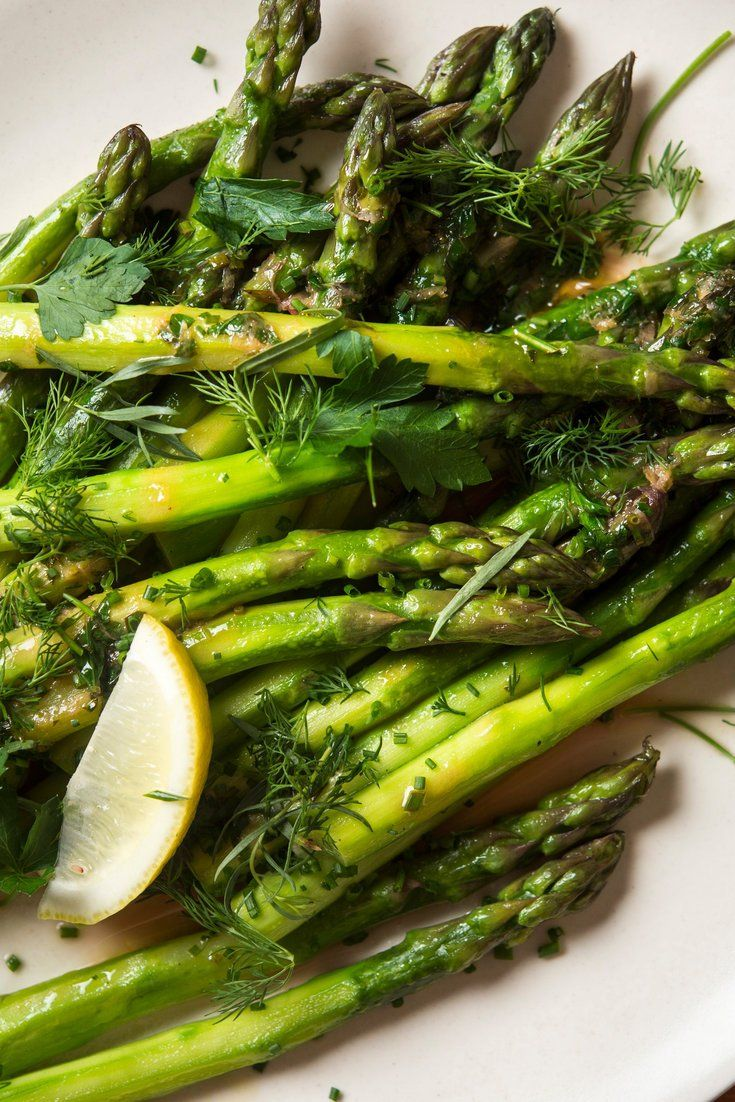 NYT Cooking: Fresh, green asparagus is a well-loved vegetable, delectably crisp and sweet. When it's available at the market or grocery, use it in abundance. Asparagus is amazingly versatile: it can be steamed, simmered, roasted, battered, grilled, sautéed or wok-fried. Thinly sliced, it's even wonderful raw in a salad. The cooked spears can sport a variety of guises, from simple salt and%...