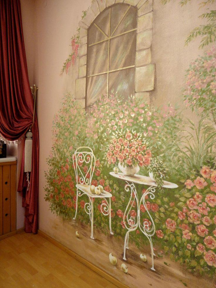 Best 25 Garden Mural Ideas On Pinterest Mural Painting