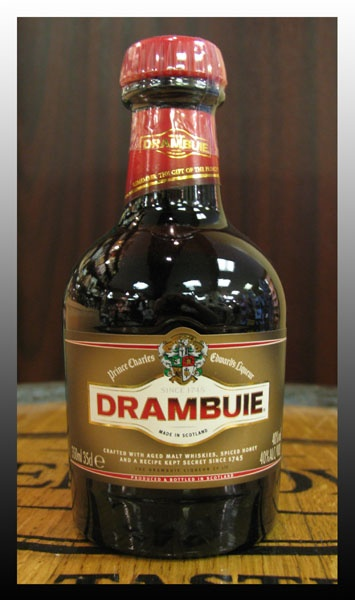 Drambuie. with green ginger wine or irn brew or ginger ale, or try in fresh friut salad- no cream though mmmmm Or on its own, it evaporates dont you know, well mine does.